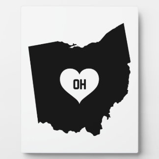 Ohio Love Plaque
