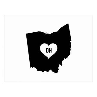 Ohio Love Postcard
