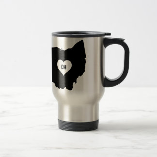 Ohio Love Travel Mug