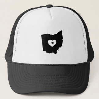Ohio Love Trucker Hat