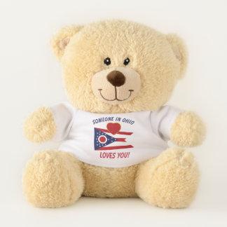 Ohio Loves You Teddy Bear