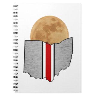 Ohio Moonlight Notebook