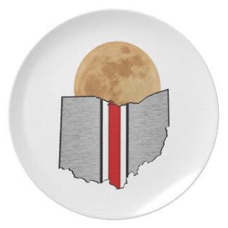 Ohio Moonlight Plate