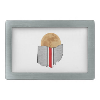 Ohio Moonlight Rectangular Belt Buckle