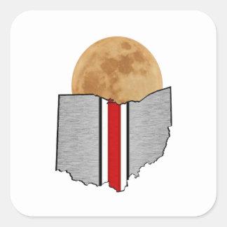 Ohio Moonlight Square Sticker