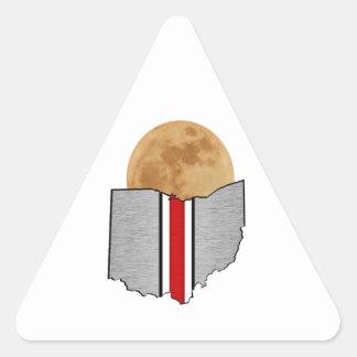 Ohio Moonlight Triangle Sticker