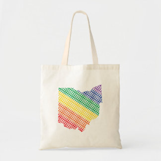 Ohio Rainbow State Tote Bag