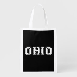 Ohio Reusable Grocery Bag