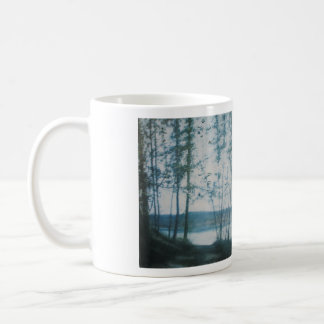 """OHIO RIVER HAZE DECORATIVE MUG"" BASIC WHITE MUG"