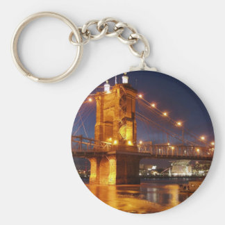 Ohio River Suspension Bridge Keychain