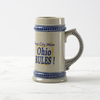 Ohio Rules ! Beer Stein