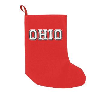 Ohio Small Christmas Stocking