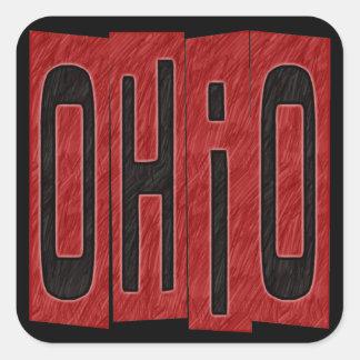 Ohio Square Sticker