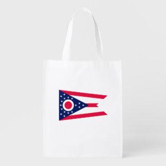 Ohio State Flag Design Market Tote