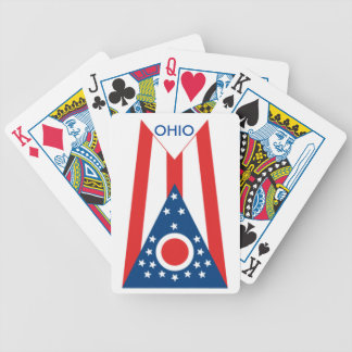 Ohio State Flag Playing Cards