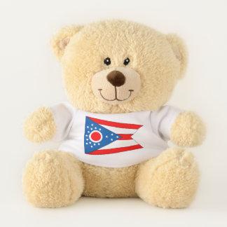 Ohio State Flag Teddy Bear