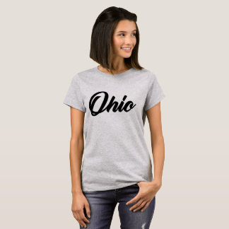 Ohio State hand letter style buckeyes T-Shirt