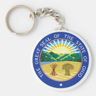 Ohio State Seal Keychain