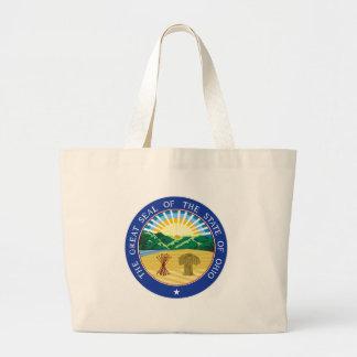 Ohio State Seal Large Tote Bag
