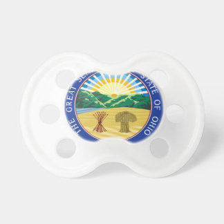 Ohio State Seal Pacifier