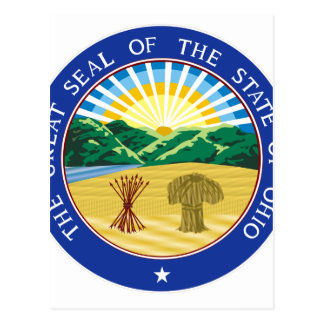 Ohio State Seal Postcard