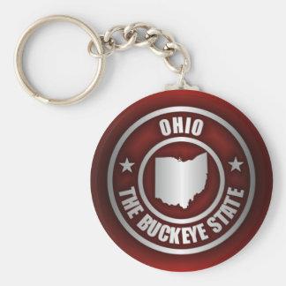 Ohio Steel (Red) Keychain