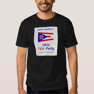 Ohio TEA Party - We're Taxed Enough Already! Tshirts