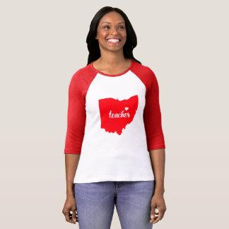 Ohio Teacher Tshirt (Red)
