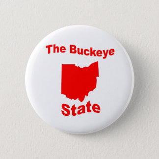 Ohio: The Buckeye State 2 Inch Round Button