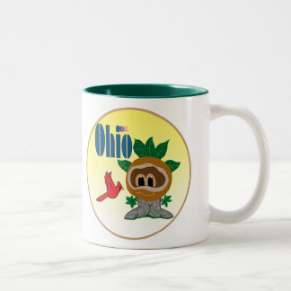 Ohio Two-Tone Coffee Mug