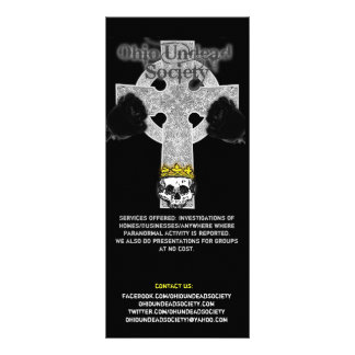 Ohio Undead Society Rack Cards
