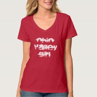 Ohio Valley Girl Playful Gift Souvenir Dark shirt