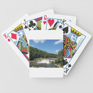 Ohiopyle, Pennsylvania Bicycle Playing Cards