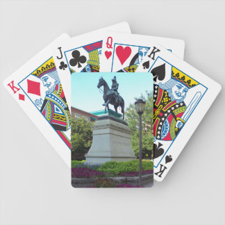 Ohio's First President Bicycle Playing Cards