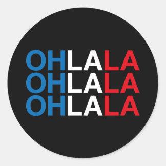 OHLALA CLASSIC ROUND STICKER