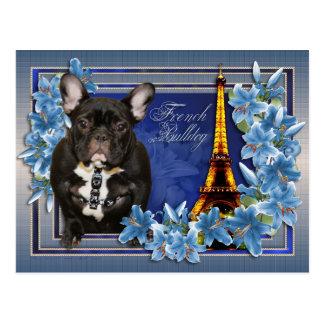 OhLaLa French Bulldog Postcard