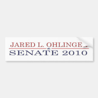 Ohlinger For Senate Bumper Sticker