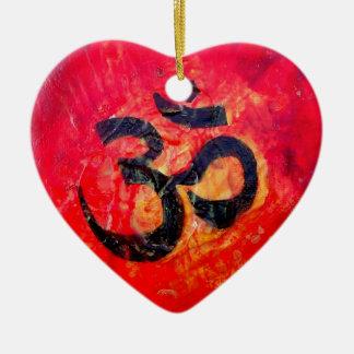 Ohm Ceramic Ornament