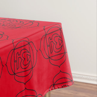 """Ohm Chakra Tablecloth"" Tablecloth"