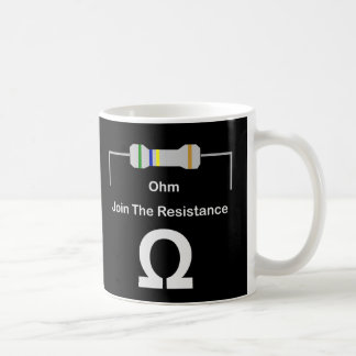 OHM Join The Resistance Coffee Mug