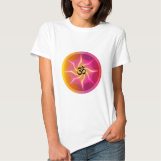 Ohm Psychedelic Spiral T Shirt