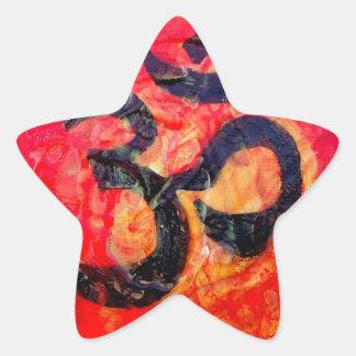 Ohm Star Sticker