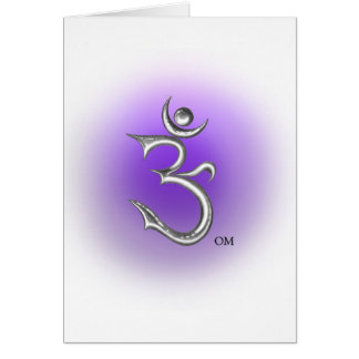 Ohm Symbol Greeting Card