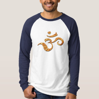 Ohm Symbol in Bronze (T-Shirt) T-Shirt