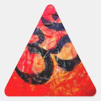 Ohm Triangle Sticker