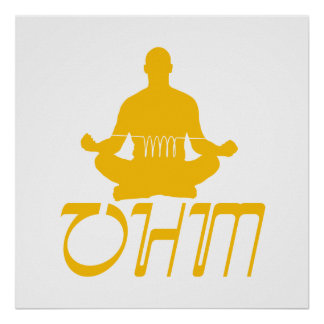 OHM Yellow Poster