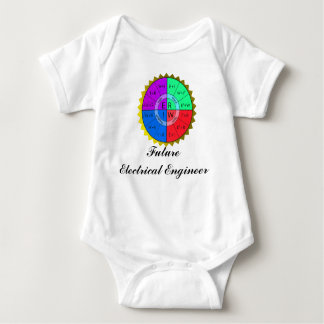 OHMS LAW-T-SHIRT BABY BODYSUIT