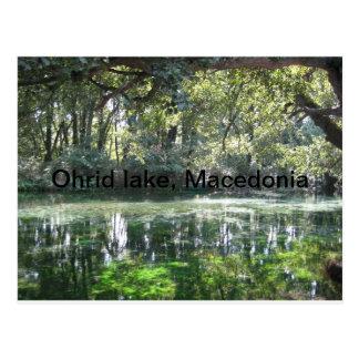 Ohrid Lake, Macedonia Postcard