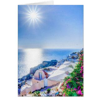 oia-417822 oia santorini summer greece island sea card