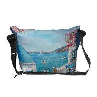 Oia, Santorini - Rickshaw Messenger Bag